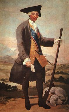 Francisco de Goya | Carlos III en traje de cazador, 1786-88