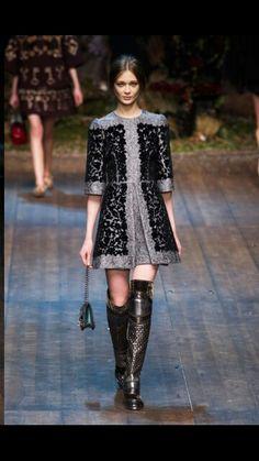 Fall 2014 / Winter 2015 by Dolce & Gabbana