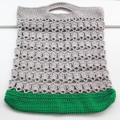 crocheted bag - free pattern http://www.classiceliteyarns.com/pdf/ProvenceSummerStringBag.pdf