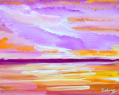 impressionist art, paintings, daniel scharf paintings