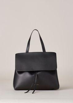 Mansur Gavriel Lady Bag (Black / Flamma)