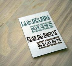 CARTE DE VISITE 85 X 54 Cm Papier 300g Recycl