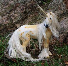Wooden super lifelike unicorn *.*
