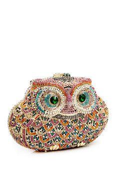 LUXMOB Owl Clutch