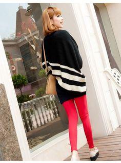 eea0d44b6191a あらゆるシーズン通して使える赤のレギンス♡かっこいいレギンスのコーデのスタイル・