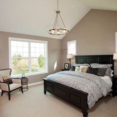 Universal Khaki Paint Bedroom Design Ideas, Pictures, Remodel and Decor