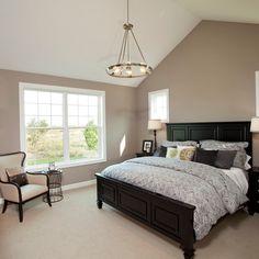 Universal Khaki Paint Bedroom Design Ideas, Pictures, Remodel and Decor