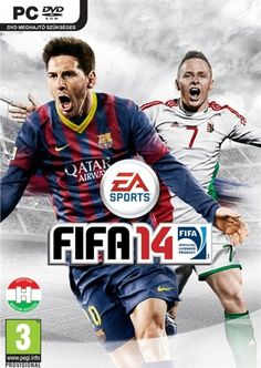 FIFA 14 cover for Hungary featuring Balázs Dzsudzsák and Lionel Messi. Dimitar Berbatov obviously wasn't available for the photo shoot!