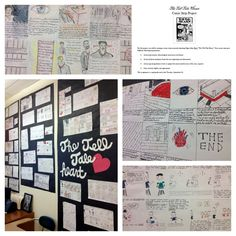 Love the comic strip idea for the Tell Tale Heart!  Doing this!
