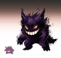 Realistic Pokemon Sketches: Gengar by ~nauvasca on deviantART