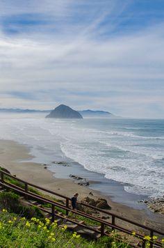 North Point Beach, in Morro Bay, California