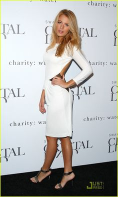 Love how Blake Lively styled Dress #2