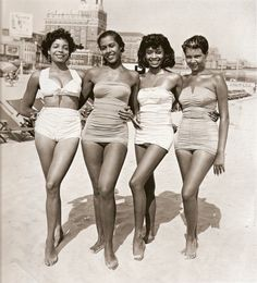gorgeous women 1950's....I love these bathing suits, so classic.