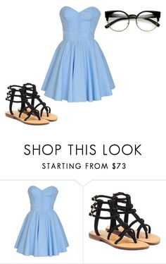 """Untitled #495"" by kaylaxoxo24 ❤ liked on Polyvore featuring Mystique and ZeroUV"