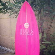Billabong Pink Surfboard