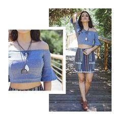 Qual você prefere? Acesse nosso feed e veja a segunda opção de look ❤️ #fashion #moda #itgirl #love #style #bohostyle  #lojabySiS  www.lojabysis.com.br