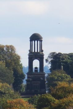 Rockingham Mausoleum seen from Wentworth Woodhouse