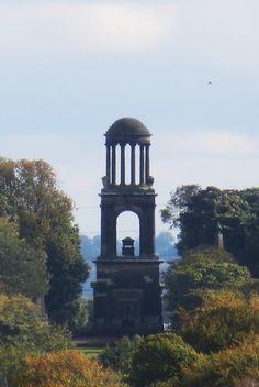 Rockingham Mausoleum seen from Wentworth Woodhouse