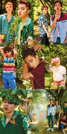 Ko  ko bop Chanyeol, Exo Kokobop, Exo 12, Kpop Exo, K Pop, Exo Dear Happiness, Exo Chanbaek, Exo Group, Ko Ko Bop