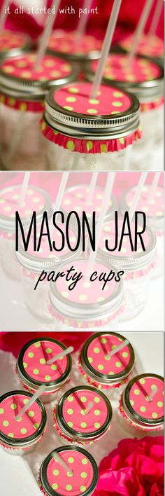 Mason Jar Party Idea