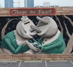 """""""Charge my heart"""" by Zed1 @Miami, USA"""