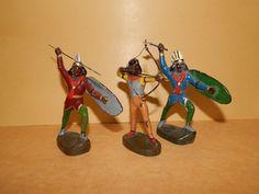 Antike Indianer um 1920 Lineol sehr selten topp Zustand | eBay