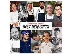 Food & Wine Announces Best New Chefs 2015 - Eater