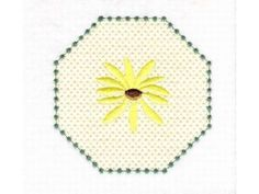 Daisies Machine Embroidery Designs  http://www.designsbysick.com/details/daisies