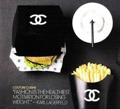 """""""Fashion is the healthiest motivation for losing weight"""" -- and anorexia?! - Karl Lagerfeld"""