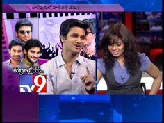 Actors Nikhil, Varun Sandesh and Adi in Tv9 Studio - Part 3