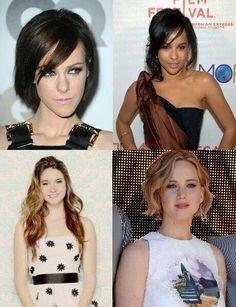 Jena Malone, Zoë Kravitz, Shailene Woodley, Jennifer Lawrence .
