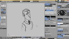 GP - Grease Pencil --> convert to bezier or geometry + Build Modifier = Animated strokes! in Blender Grease Pencil - Making 2D in a 3D eviroment on Vimeo