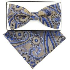 thedappertie-bh-2082-mens-beige-and-blue-paisley-pre-tied-bow-tie-and-handkerchief-set_4382884.jpg (450×450)