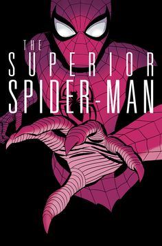 THE SUPERIOR SPIDER-MAN #10 Cover (Marvel, 2013). Art by Marcos Martin.