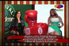 Los Dueños Del Circo: Caroline Aquino Y Hony Estrella Enfrentadas De Nuevo