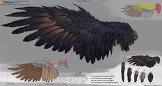 Dongjun Lu is creating Concept Art & Illustration Lessons Digital Painting Tutorials, Digital Art Tutorial, Art Tutorials, Wings Drawing, Drawing Base, Fantasy Character Design, Character Art, Ange Demon, Art Reference Poses