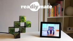 """reaDIYmates are fun Wi-fi paper companions that move and play sounds depending on what's happening in your digital life.    It's a mix of low-tech and high-tech."""