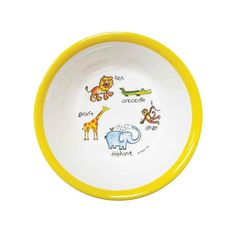 Gender neutral bowl that teaches your children early!
