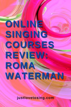 How an award winning artist help refine your singing voice. Check out RomaWaterman #JustLovetoSing #RomaWaterman #OnlineCourse #Singing #VocalCoach #SingingCourse #Blog
