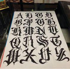 LETTERING FONT Lettering Pinterest Fonts, Tattoo And Graffiti - 480x478 - jpeg