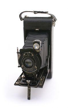 "The No. 1 and No. 1A Pocket Kodak was a folding camera. It made 2 ½×4 ¼ ""…"