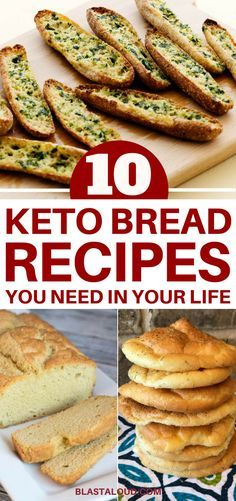 With these low carb keto bread recipes, you can stay in ketosis and still enjoy the comfort of bread. These keto bread recipes are easy to make, healthy and delicious! #keto #ketobread #ketobreadrecipes #ketosis #lowcarb