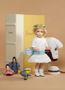 Wendy Lawton doll with her little Asian dolls