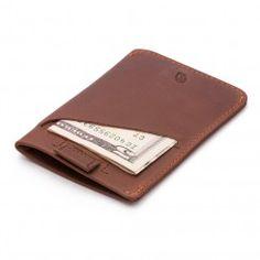 Bellroy Slimmest Cocoa Card Sleeve  www.garagea.com