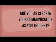 Communication Tip #19