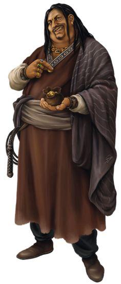 male human merchant  DSA Haendler