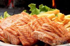 Receita de Filé de salmão grelhado em receitas de peixes, veja essa e outras receitas aqui!