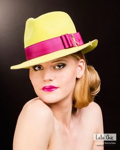 MADNESS ON TIMES SQUARE by LALLU CHIC Couture Millinery by Hania Bulczynska.  www.lalluchic.com