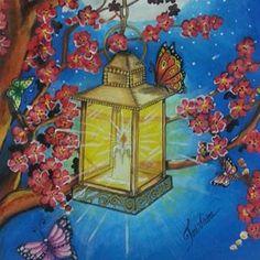 Inspirational Coloring Pages  #inspiração #coloringbooks #livrosdecolorir #jardimsecreto #secretgarden #florestaencantada #enchantedforest #reinoanimal #animalkingdom #adultcoloring #milliemarotta