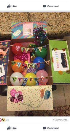 Diy Gifts For Friends, Birthday Gifts For Best Friend, Birthday Gifts For Girlfriend, Diy Gifts For Boyfriend, Diy Crafts For Gifts, Boyfriend Birthday, Girlfriend Presents, Boyfriend Care Package, Surprise Boyfriend
